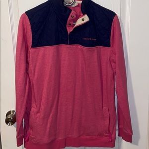 Vineyard Vines Quilted Nylon Shep Shirt